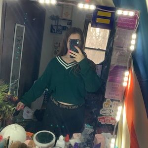Green sweater from forever 21